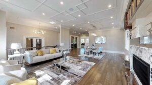 V2Group Inc & Vullnet Zeneli projects -luxury home-Hall