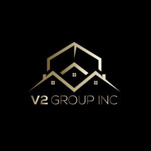 V2Group Inc & Vullnet Zeneli Logo